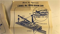 Collection of Vintage Lionel Train Cars 6175 Flat