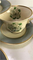Syracuse China Avalon Cups and Saucers Made in
