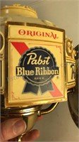 Vintage Pabst Blue Ribbon Sconce  Light with
