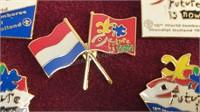 1995 Boy Scout Jamboree Enameled Pin Set