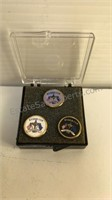 Ryder Cup Golf Tournament 3pc Enameled Ball