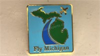 Vintage Northwest Orient Airlines Enamel Pin and