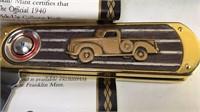 Franklin Mint 1940 Ford Truck Commemorative