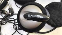 Koss Headphones and Cycle Helmet Communication