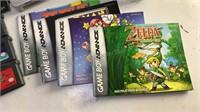 Vintage Nintendo Gameboy Advance SP with 3 Games