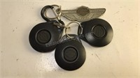 2003 Harley Davidson Key Fobs and keychain
