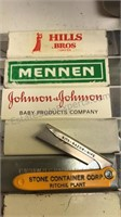 Collection of Vintage Advertising Items and other