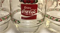 3 Coca-Cola Holly Hobbie Collectible Glasses  6""