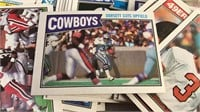 Vintage NFL Trading Cards 89-90's loose in a  box