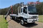 2006 Isuzu FVZ 1400 Long Crane Truck