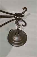 """Hanging Light Fixture with 20"""" Shade"""