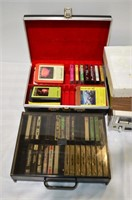 Grp, of Vintage Sears Stereo, 8-Track Player,