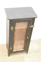 """Farmhouse Style Wired Cabinet 16""""x10""""x31"""" Tall"""