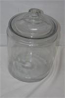 """Large Glass Jar 15"""" Tall"""