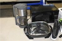 Group of Assorted Appliances, Grills, Toaster,