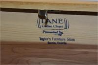 "Taylors Furniture Mini Lane Cedar Chest 9"" Long"