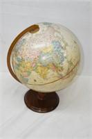 World Classic Globe wit Wood Base