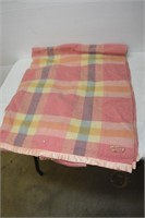 Avonmore Eaton's Label Wool Blanket (Old Repair)