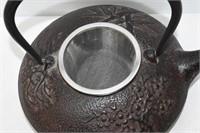 Cast Iron Loose Tea Teapot with Screen