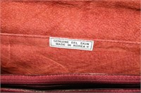 Genuine Eel Skin Handbag & Gerry Weber Silk Scarf