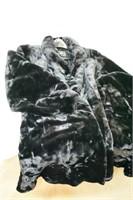 Oliver Paris Faux Fur Swing Coat Size Large