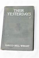 """""""Their Yesterdays"""" by Harold Bell Wright"""