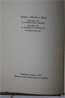 (2) Vintage Books by Harold Bell Wright