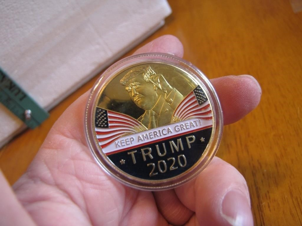 Trump 2020 Medallion | JSI Auctions