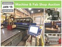 Jan 15 Machine and Fab Shop Auction | SoldonCompass.com