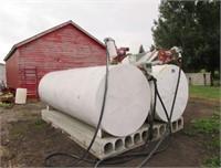 Storage Bins - Liquid/Dry  CUSTOM MADE 1000 GAL 6