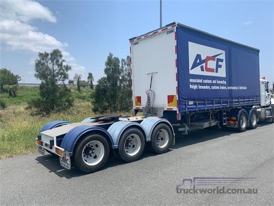 2009 Cimc Curtainsider A Trailer - Trailers for Sale