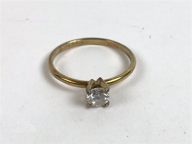 10k Gf Gold Filled Ring With Stone Setting Other Items For Sale