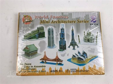 3D PUZZLE WORLD FAMOUS MINI ARCHITECTURE SERIES Other Items