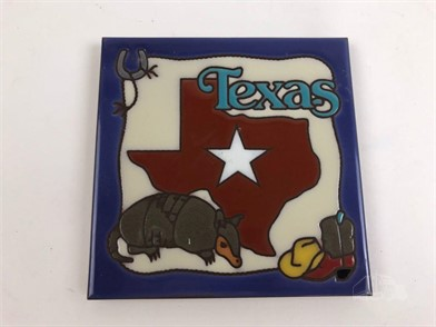 6 Texas Ceramic Tile Trivet Other Items For Sale 1 Listings