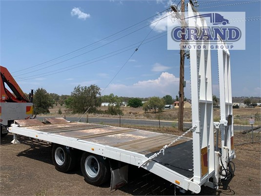 1974 White Pig Trailer Grand Motor Group - Trailers for Sale