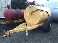 Custom 500 Gallon Single Axle Fuel Wagon