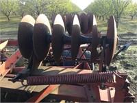 MASSEY-FERGUSON 21' Fold-Up Offset Tndm Wheel Disc