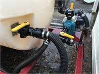 2017 PBM 1000 Gallon Dual Axle Poly Tank Trailer