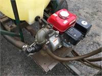 PBM 100 Gallon Poly Tank Strip Sprayer