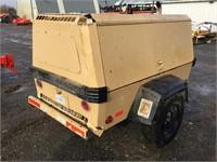 INGERSOLL-RAND Portable Air Compressor, Diesel