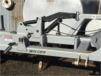 "WILCOX L660F 3-Pt 6-Row 60"" Fold-Up Lister Bar"