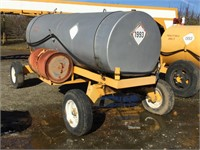 Custom 1000 Gallon Dual Axle Fuel Wagon