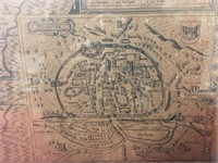 1676 Map of Devonshire by John Speed - Notes