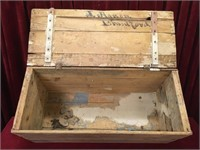 Vintage CPR Shipping Crate w/ Local Address