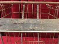 LH Grey And Sons Strathroy Steel Crate