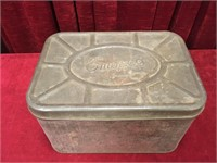 1940s Empeco National Can Co Tin Bread Box