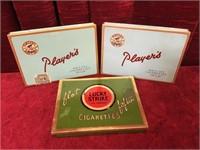3 Vintage Cigarette Tins