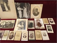 30 Antique B & W Photos