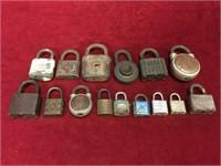 15 Vintage Locks - No Keys