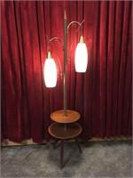Retro Double Swag Floor Lamp - Table